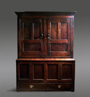 Antique oak cupboard from north wales