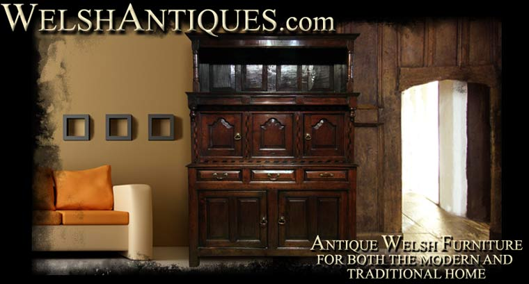 Antique welsh furniture for modern and traditional interiors